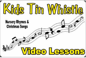 Kids Tin Whistle