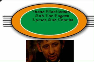 Pogues Lyrics And Chords- Shane MacGowan photo
