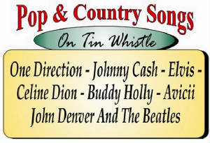 Pop And Country Tin Whistle Songs
