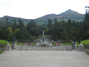 Powerscourt Gardens Wicklow
