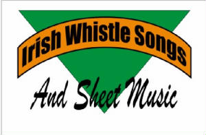 Sheet Music And Whistle For Irish Songs