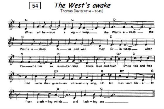 The West's Awake Sheet Music