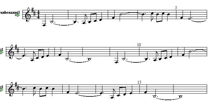 Ride On Sheet Music Part 1