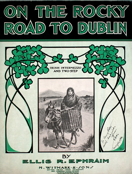 Rocky Road To Dublin-Luke Kelly lyrics+chords+tab