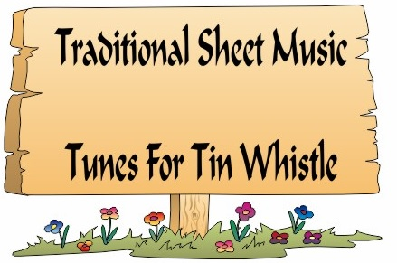 Traditional Tin Whistle Sheet Music